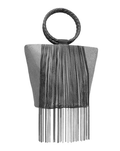 Bracelet Fringe Bucket Clutch Bag