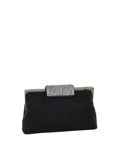5efb439a30 Quick Look. Whiting & Davis · Crystal Clasp Clutch Bag