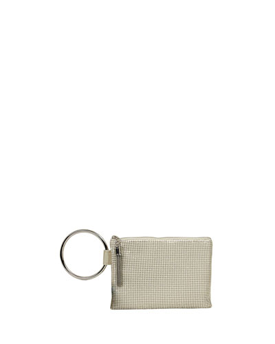 Chain Tassel Clutch Bag