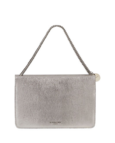 7d04923cb8de Quick Look. Givenchy · Cross 3 Metallic Leather   Suede Crossbody Bag