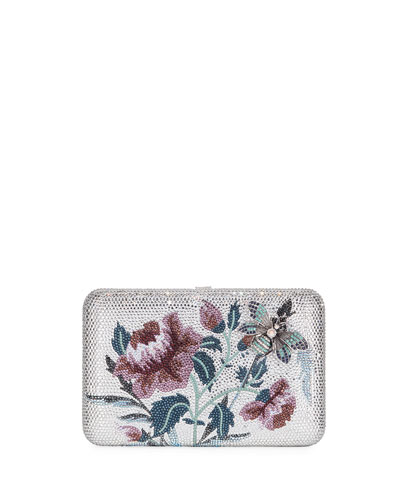 Seamless Garden Kiss Clutch Bag