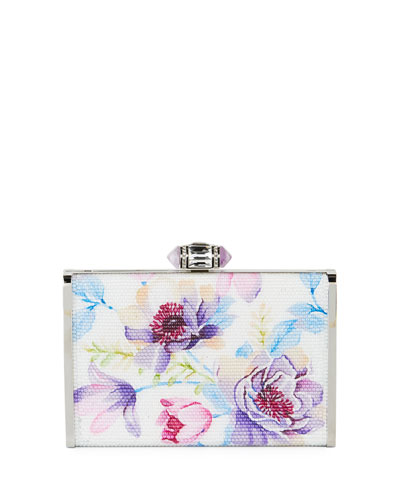 Summer Garden XS Crystal Clutch Bag