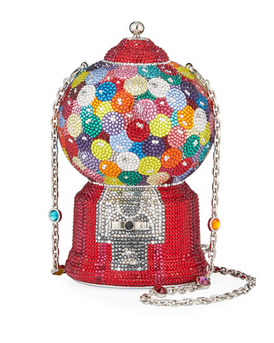 Gumball Machine Minaudiere Clutch Bag