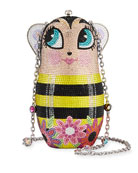 Judith Leiber Couture Russian Doll Busy Bee Clutch
