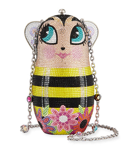 Russian Doll Busy Bee Clutch Bag