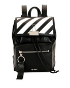 Off-White Diagonal Mini Leather Backpack