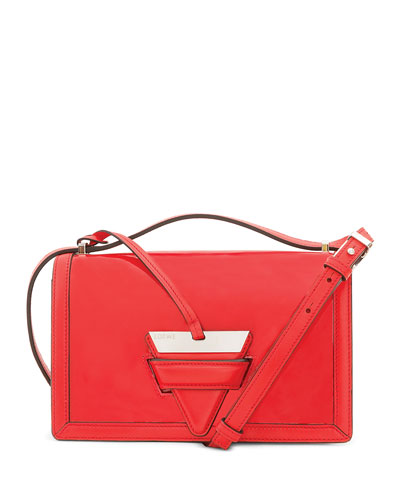 3d0fb78011 Quick Look. Loewe · Barcelona Leather Shoulder Bag. Available in Red