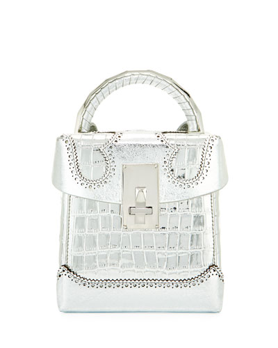 Great Alice Large Box Satchel Bag