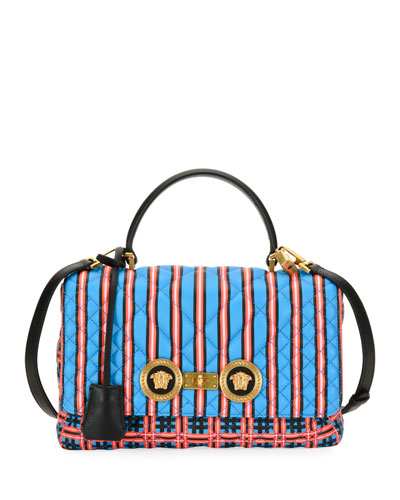 Icon Quilted Clash Shoulder Bag