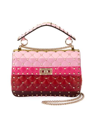 Spike.It Medium Colorblock Leather Shoulder Bag