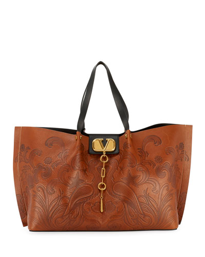VLOGO Escape Embossed Tote Bag