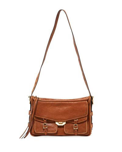 Field Messenger Leather Satchel Bag