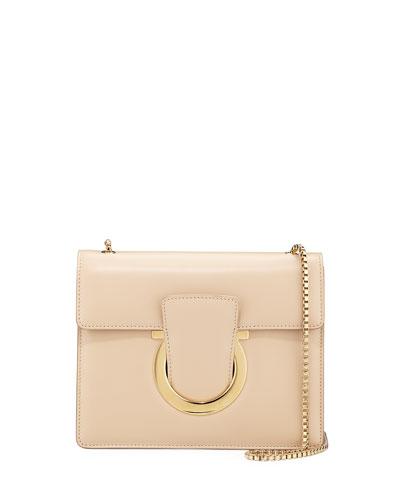 Thalia Small Leather Crossbody Bag