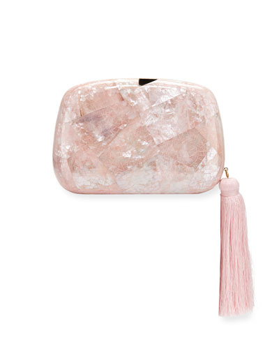Stella Minaudiere Clutch Bag with Tassel