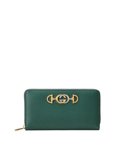 Gucci Zumi Zip Continental Wallet