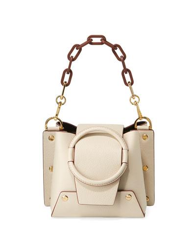 Delila Mini Leather Crossbody Bag