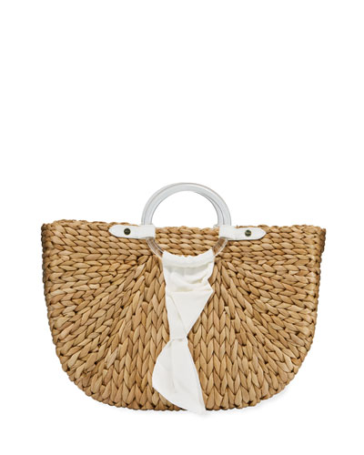 Exclusive Bimini Crescent Tote Bag