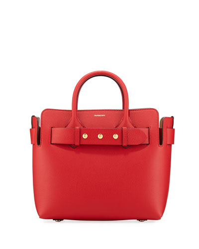Belt Small Leather Satchel Bag
