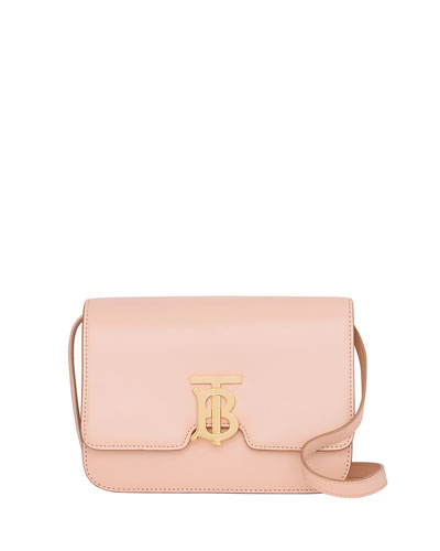 TB Small Crossbody Bag, Light Pink