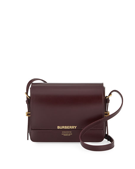 Burberry Horseferry Small Leather Shoulder Bag