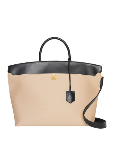 Society Medium Two-Tone Tote Bag