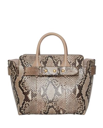 d3e9ae3e1716 Quick Look. Burberry · Marais Small Python Belted Satchel Bag