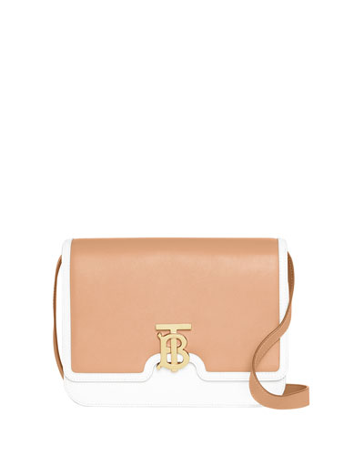 TB Medium Two-Tone Shoulder Bag