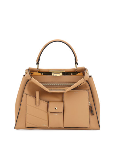 58ddd492f3 Quick Look. Fendi · Peekaboo Utility Top-Handle Tote Bag