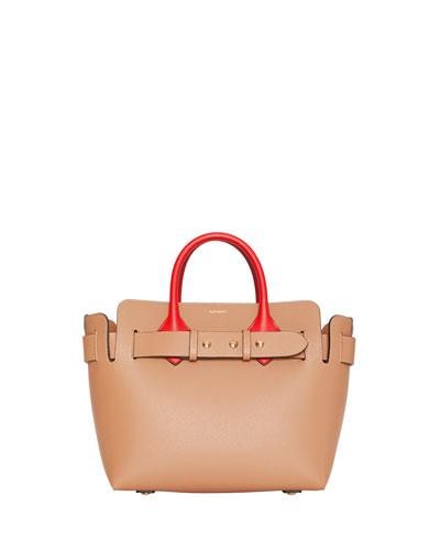 Marais Small Colorblock Belted Satchel Bag
