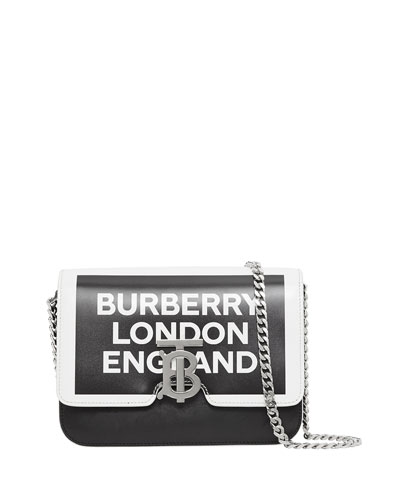 TB Small Logo Printed Shoulder Bag