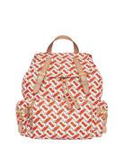 Burberry Monogram Rucksack Nylon Backpack