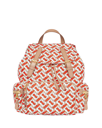 Monogram Rucksack Nylon Backpack