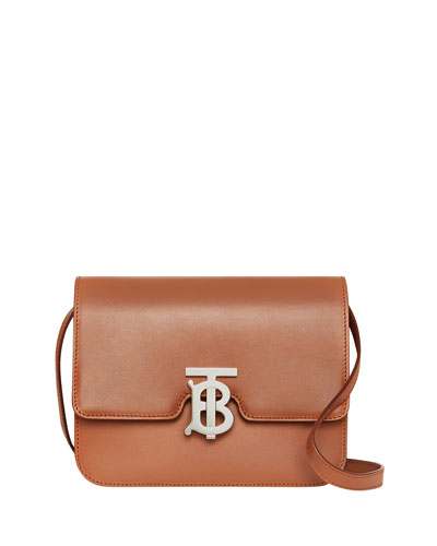 TB Small Crossbody Bag - Silver Hardware
