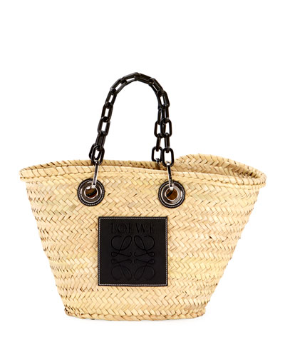 Basket Chain Tote Bag