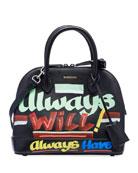 Balenciaga Ville Small AJ 'Always New Now' Top-Handle