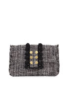 Kooreloo Tweed Pouch Clutch Bag