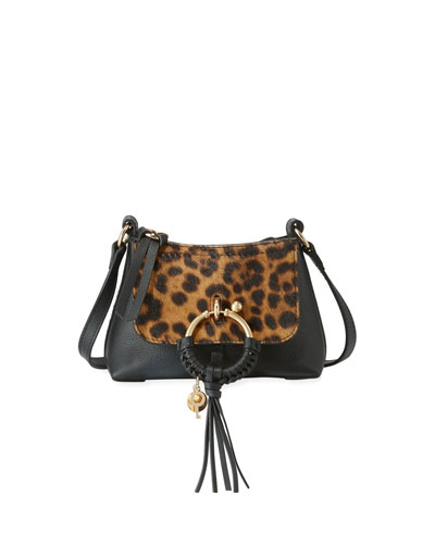 Joan Leopard Satchel Bag