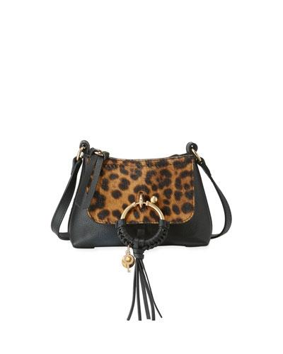 Joan Leopard Satchel Bag