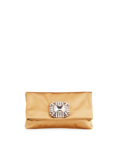 Titania Satin Clutch Bag