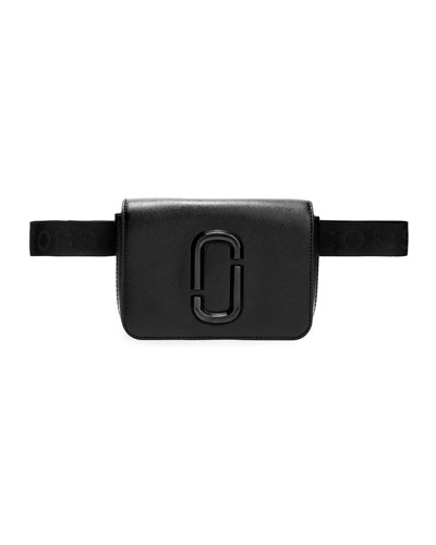 Hip-Shot Leather Belt Bag