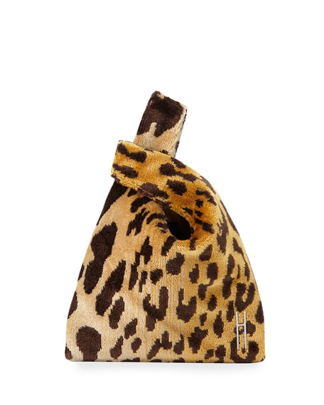Hayward Mini Shopper Leopard Brocade Bag