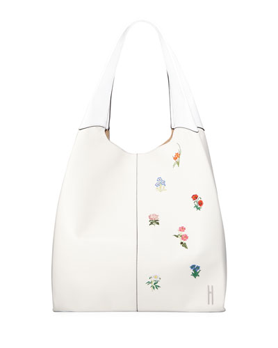 Grand Shopper Embroidered Tote Bag
