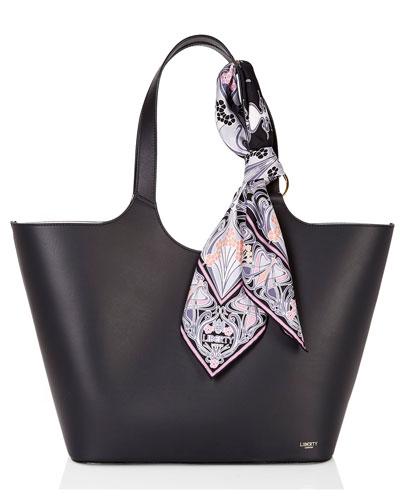 Scarf Mix Shopper Tote Bag