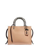 Coach 1941 Whipstitch Exotic Rogue Satchel Bag