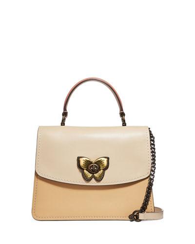Parker Butterfly Flap Top-Handle Bag