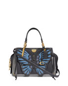 Coach 1941 Dreamer 21 Whipstitch Butterfly Satchel Bag
