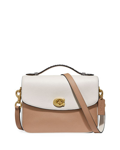 Cassie Colorblock Exotic Crossbody Bag