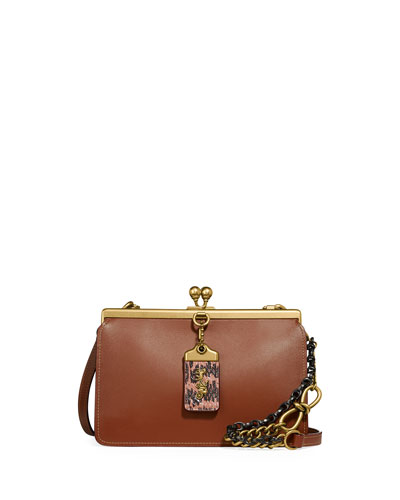 Frame 19 Crossbody Bag with Exotic Details