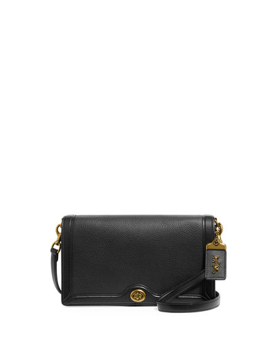 Riley Leather Crossbody Bag