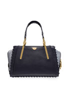 Coach 1941 Dreamer Whipstitched Colorblock Leather & Suede